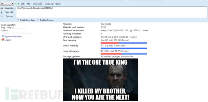 Game-of-Thrones-CTF-1.0靶机实战演练-孤独常伴