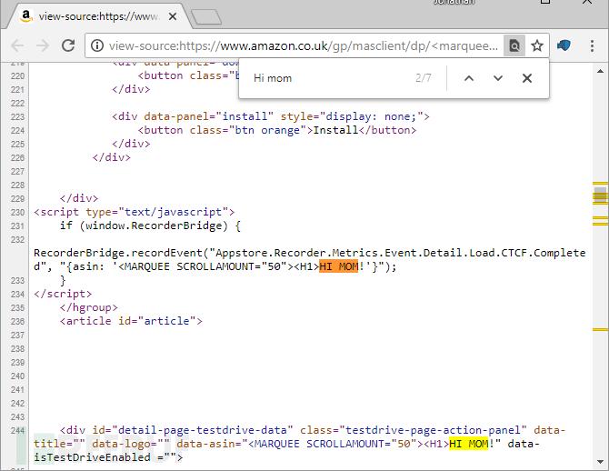 看我如何发现亚马逊网站的反射型XSS漏洞