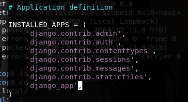 Python开发篇   Django开发与攻防测试(入门篇)