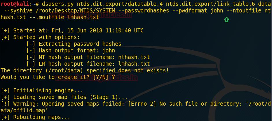 从NTDS.dit获取密码hash的三种方法