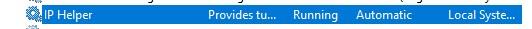 Windows中使用netsh命令进行端口转发-孤独常伴
