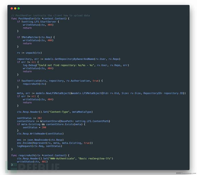 代码审计 – Gitea远程命令执行漏洞链