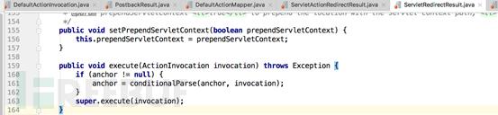 跟踪super.execute()方法