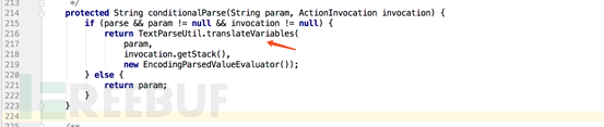 传入了conditionalParse()方法