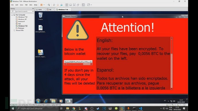 DeathRansom:一款教育目的的Python勒索软件开发平台插图(2)