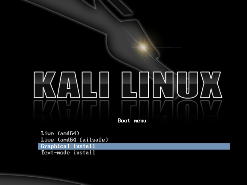 Kali Install