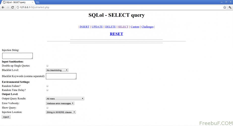 SQLolSQLol渗透测试演练