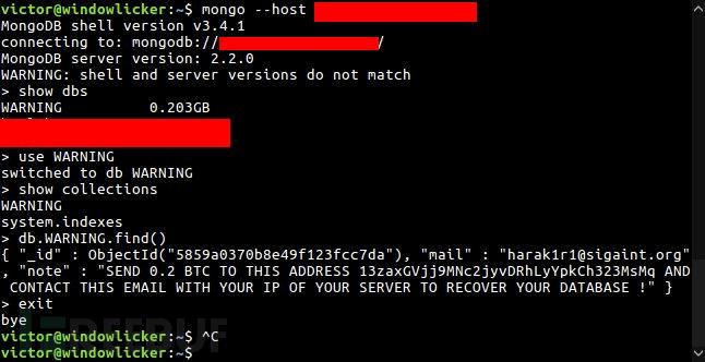 MongoDB-ransom warning.png