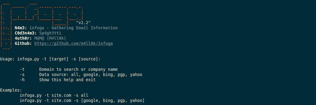 开源自动化信息收集工具SpiderFoot