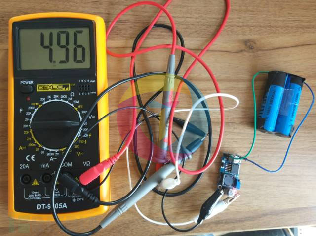 调整输出电压