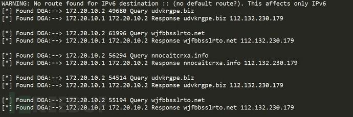 利用Python实现DGA域名检测