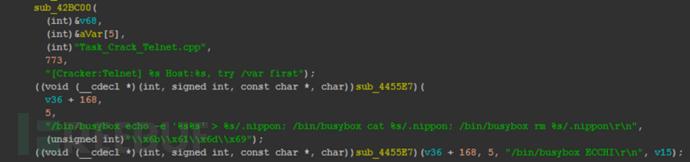 图2-5-37 Cracker Telnet模块中的mirai特征.png