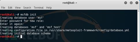 Metasploit数据库相关命令使用基础教程 第4张