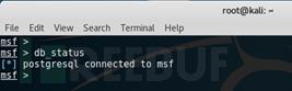 Metasploit数据库相关命令使用基础教程 第5张