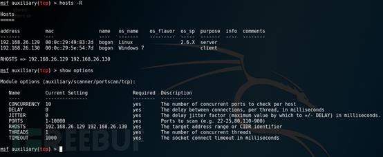 Metasploit数据库相关命令使用基础教程 第20张