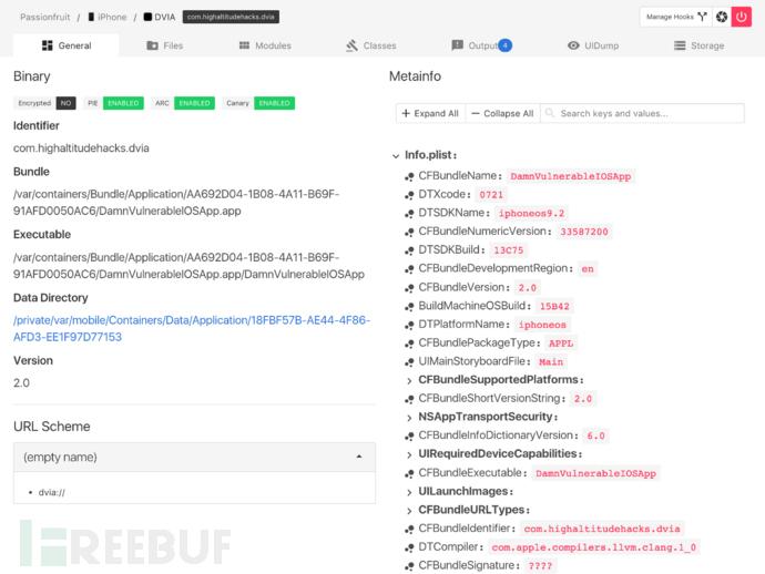Passionfruit:iOS应用黑盒评估工具
