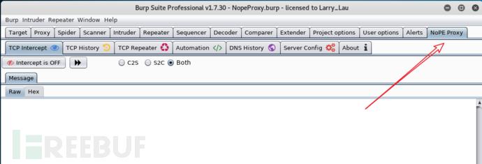 【工具利用】Burpsuite抓取非HTTP流量