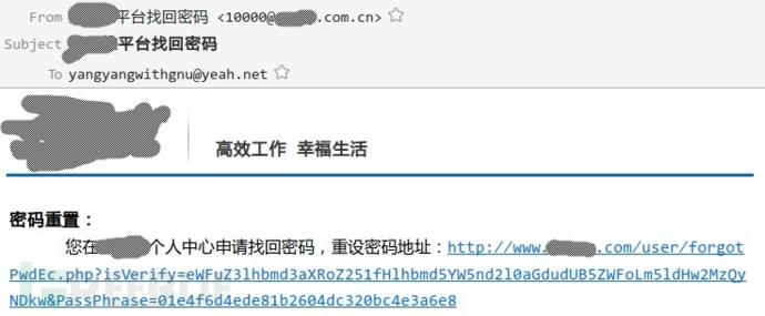 任意用户密码重置(一):重置凭证泄漏