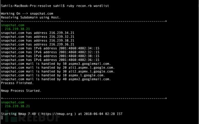 Web应用安全测试前期情报收集方法与工具的介绍