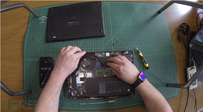 5分钟内在笔记本上安装一个固件后门