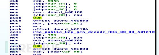 RSA公钥