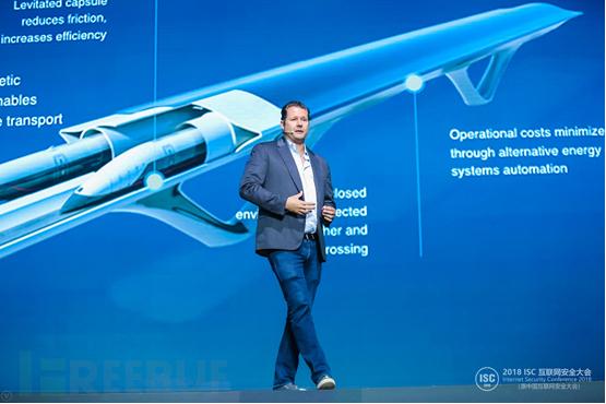 美国超回路运输技术公司(Hyperloop Transportation Technology) 首席执行官Dirk Ahlborn