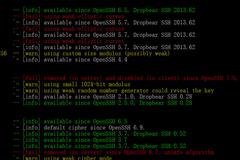 關于SSH加密和連接的若干事兒