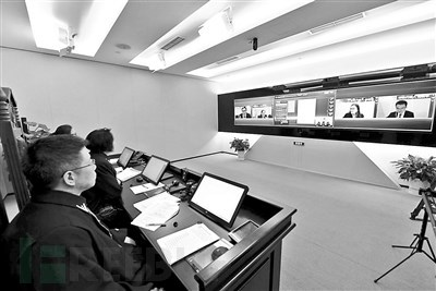 北京互联网法院首案昨日开庭:原被告视频连线