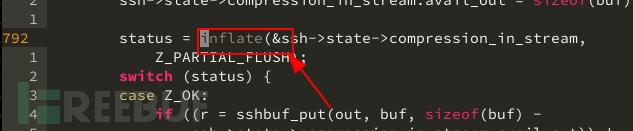 使用了zlib的函数