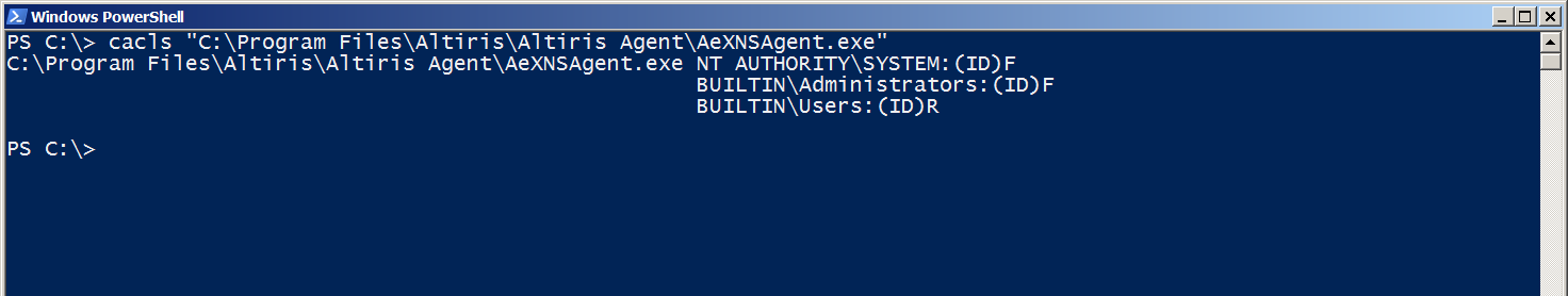 AsNXSAgent.exe服务代码的权限
