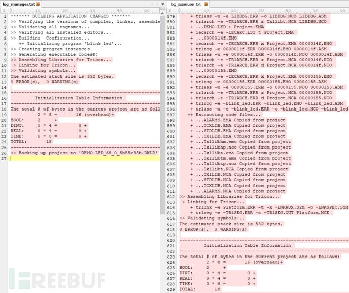 普通用户(左)和超级用户t*bd(右)可用信息之间的差异