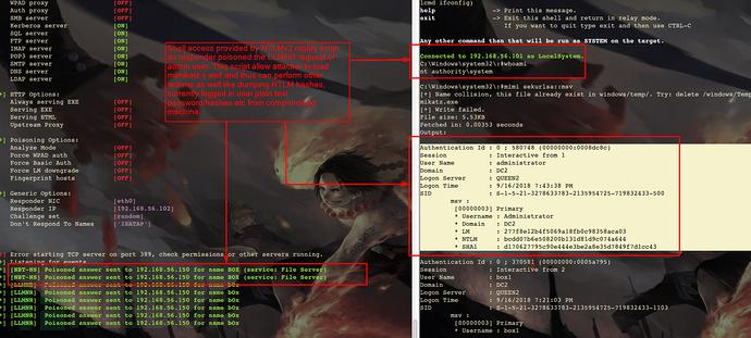 Windows环境中使用Responder获取NTLMv2哈希并利用