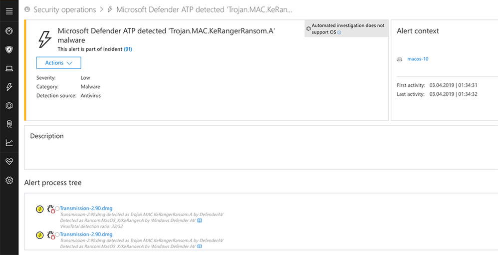 微软安全防护套件Windows Defender ATP将登陆Mac OS平台-互联网之家互联网之家
