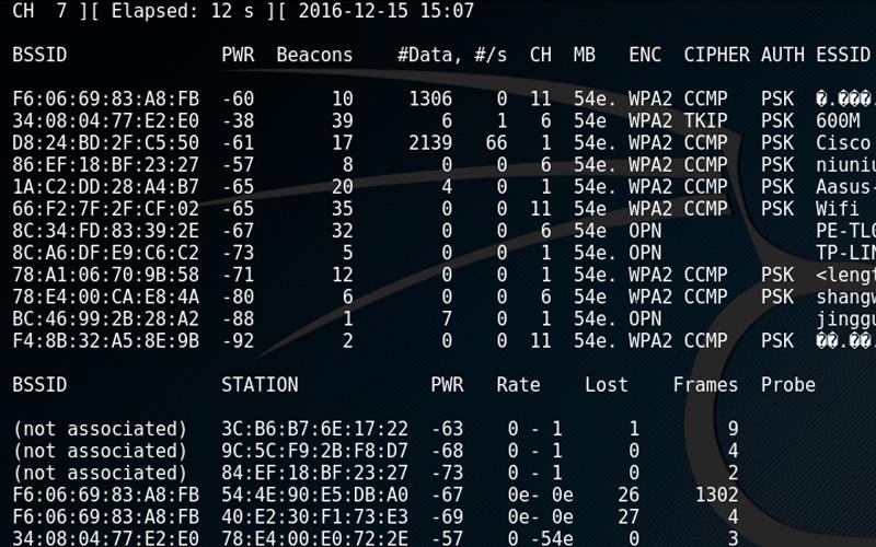 无线安全之破解WPA/WPA2 加密WiFi