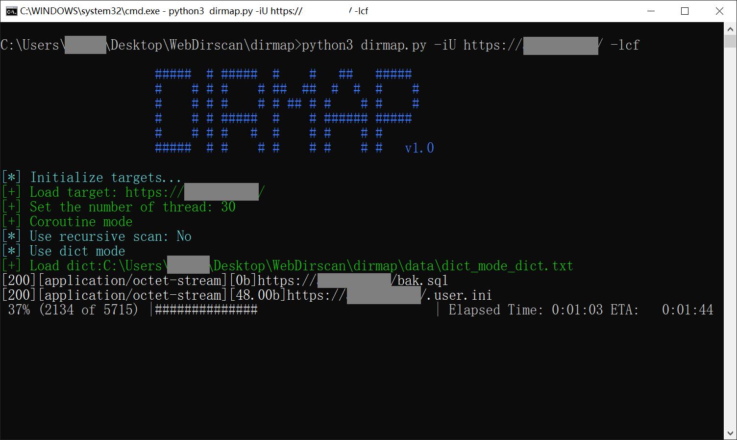 Dirmap:一款高级Web目录文件扫描工具-互联网之家