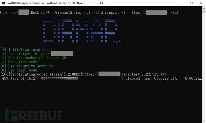 Dirmap:一款高级Web目录文件扫描工具 第5张