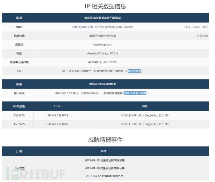 13-查询到改IP地址为钓鱼网址.png
