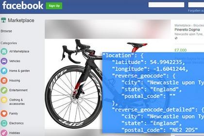 挖洞经验 | 获取Facebook Marketplace卖家精确地理位置信息