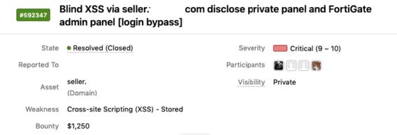 利用Blind XSS发现目标系统内部票据管理和防火墙登录页面-互联网之家