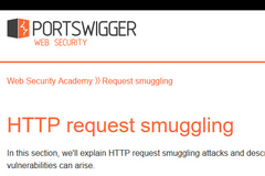 HTTP Requests Smuggling所导致的信息泄露