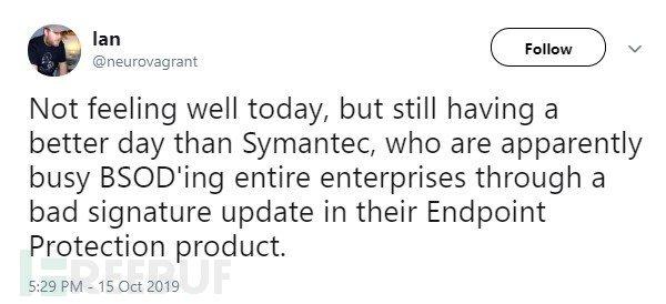 Symantec BSOD tweet.jpg