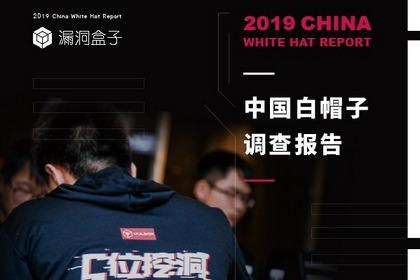 漏洞盒子重磅發布《2019中國白帽子調查報告》