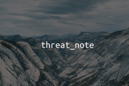 Threat_Note:一款功能强大的IoC数据检索与记录工具