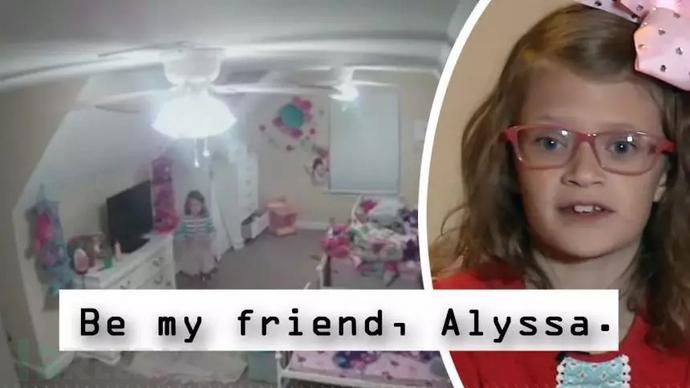 黑客入侵八岁儿童房间摄像头,播放恐怖音乐竟是为了……